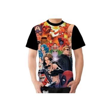 Camiseta Camisa Marvel Vs Capcom Herois Street Fighter