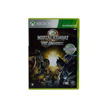 Game Mortal Kombat vs DC Universe - Xbox 360