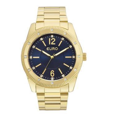 05a4be353d8 Relógio Feminino Euro EU2035YMO 4A Dourado