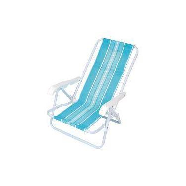 Cadeira Infantil 4 Posições Aço - Azul