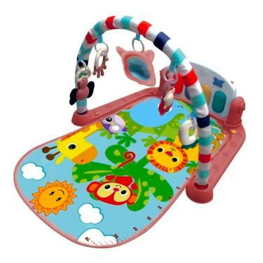 Imagem de Ginásio De Atividades Com Piano Musical Vermelho Kitstar