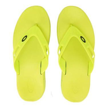 CHINELO OAKLEY REST 2.0 Cor:Verde-Neon;Tamanho:39