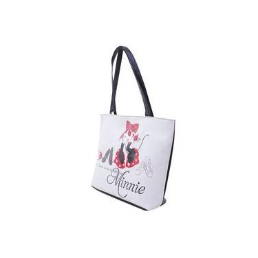 Bolsa Branca Minnie Saltos Altos Disney