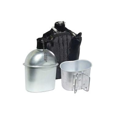 Cantil Echolife De Alumínio C/ Caneca Exercito Tático Capa