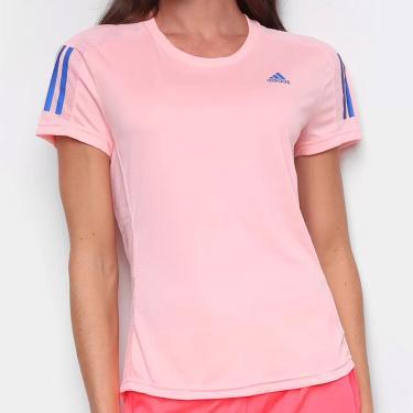 Camiseta Own The Run Coral E Azul - Adidas