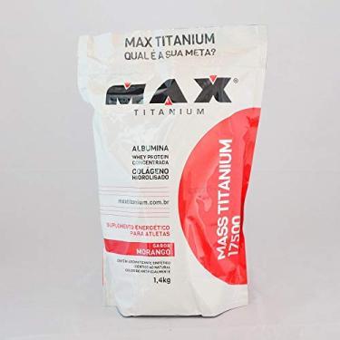 HIPERCALÓRICO MASS TITANIUM 17500 (1,4KG) - MAX TITANIUM - Chocolate