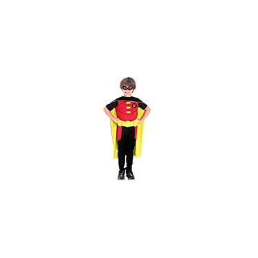 Imagem de Fantasia Robin Luxo Infantil Justiça Jovem