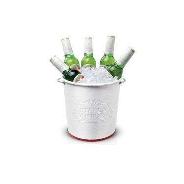 Imagem de Balde de Gelo Alumínio Stella Artois Alto Relevo