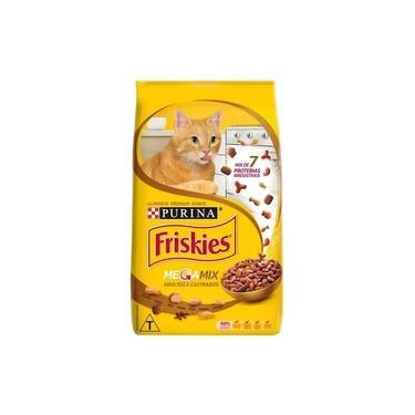 Ração para Gatos Friskies Megamix Adultos e Castrados 1Kg