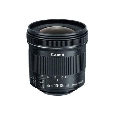 Objetiva Canon EF-S 10-18mm f4.5-5.6 IS STM