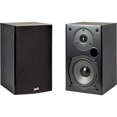 Polk Audio T15 - Par de caixas acústicas Bookshelf 100w 2-vias Preto