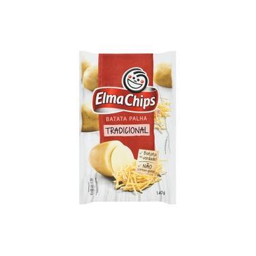 Batata Palha Elma Chips Tradicional Pacote 140 G