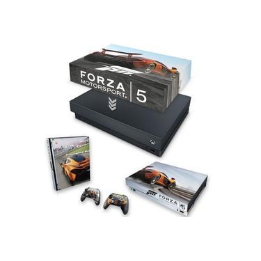 Capa Anti Poeira e Skin para Xbox One X - Forza Motor Sport