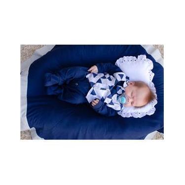 Saída Maternidade Menino Pequeninos 5 Peças Cor 1