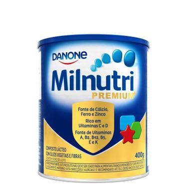 Composto Lácteo Danone Milnutri Premium com 400g 400g