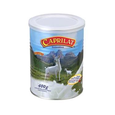 Imagem de Leite de cabra em pó 400 grs caixa com 06 latas