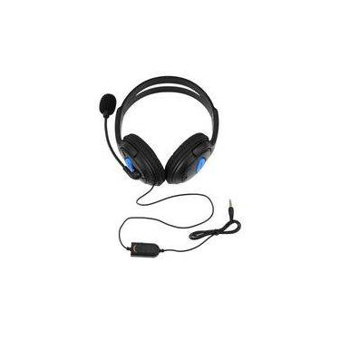 Headset Gaming Gamer Fone Para Playstation 4 Ps4 Com Microfone