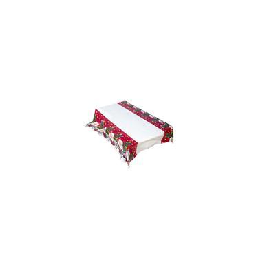 Imagem de Toalha de mesa de pvc de decoração de Natal 180 * 110 cm Mesa de Natal à prova d'água
