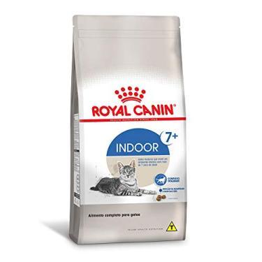 Royal Canin Indoor 7+ Ração para Gatos Adultos - 1,5Kg