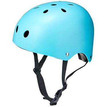 Capacete Esportivo Coquinho Tam. G Regulável com 11 Entradas de Ventilação Azul Fosco - ES194 Atrio G