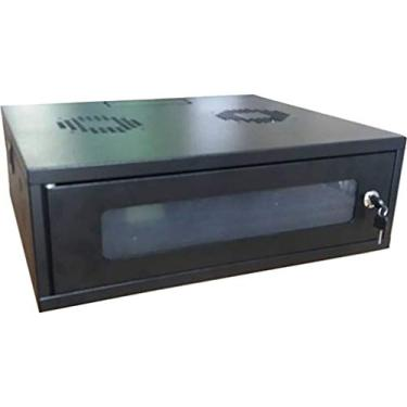 mini rack 19'' 3ux450mm - max eletron (preto)