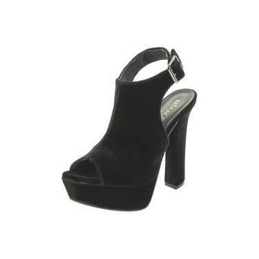 c80fde8b93 Sapato Feminino Ankle Boot Preto Mixage - 8777837