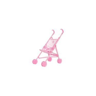 Imagem de Carrinho Para Boneca Dobrável Brinquedo Menina + 3 Anos Polibrinq