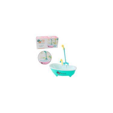 Imagem de Banheira para boneca com chuveiro ark toys
