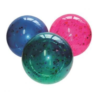 Bola De Vinil Confete Coloridas ( Kit Com 20 Bolas ).