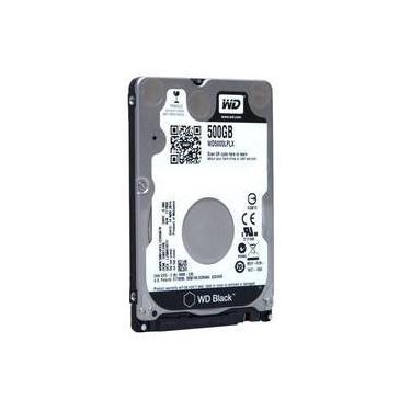 HD Notebook 500GB SATA3 Western Digital Black - WD5000LPLX (2,5pol, 7.200 RPM)