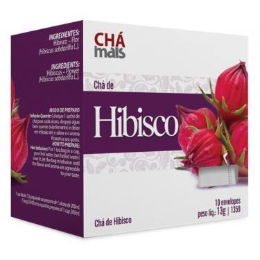 Chá de Hibisco Cx10 Sachês de 1g