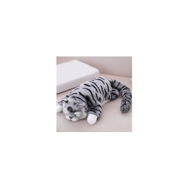 Imagem de Simulação elétrica Gatos de pelúcia gatinhos de pelúcia Roll Cats 3 cores boneca de pelúcia
