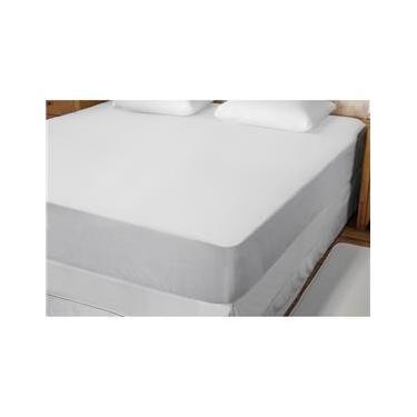 Imagem de Protetor para Colchão Casal Fibrasca Bello Conforto em Malha Impermeável - Branco