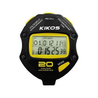 ba0af76aa70 Cronômetro CR20 Kikos Preto - 20 voltas