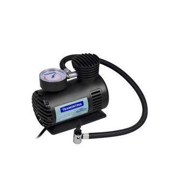 Compressor De Ar Portátil 12v 50w 300 Psi Tramontina Calibrador De Pneus Para Carros, Bicicletas ,