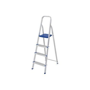 Escada Alumínio 4 Degraus 5102 MOR