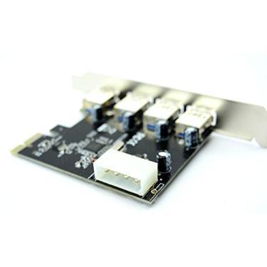 Placa PCI USB 3.0 Super Express de 4 portas
