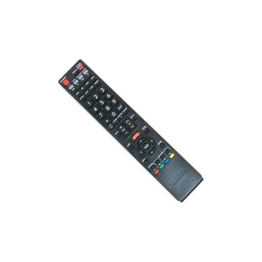Controle Remoto Tv Smart Led Sharp Aquos Lc-50LE650 com tecla Netflix
