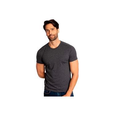 Camiseta Sergio K Masculina Back To Basics Chumbo Mescla
