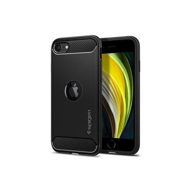 Capa Spigen Iphone Se 2020 Rugged Armor Black Slim