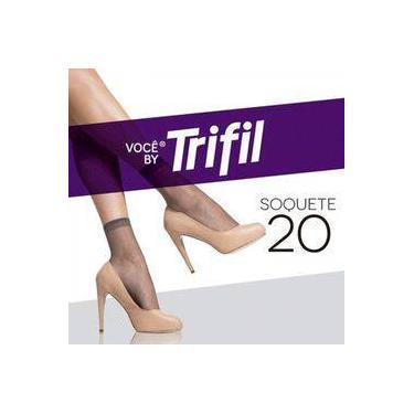 Meia Soquete Fio 20 W06126 - Trifil - Tabaco