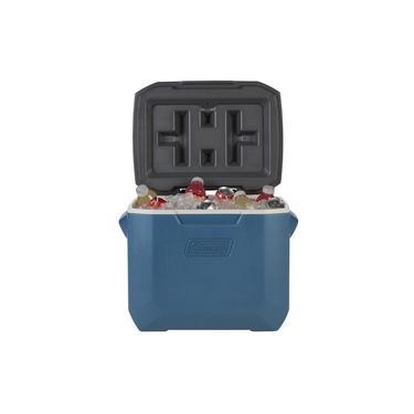 Imagem de Caixa Térmica Xtreme Azul c/ Rodas e Puxador Retrátil 47 Litros - Coleman
