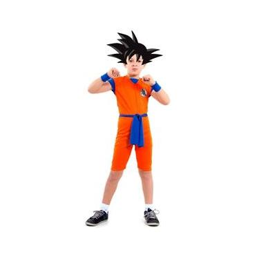 Fantasia Dragon Ball Z Infantil Goku Curto