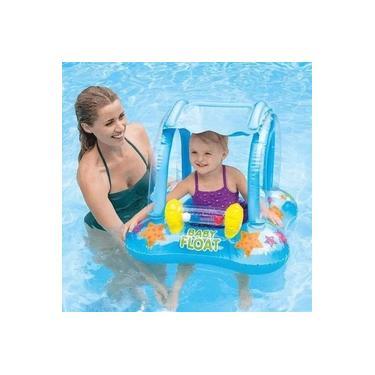Boia Inflável Baby Bote Infantil Cobertura Bebê Intex #56581
