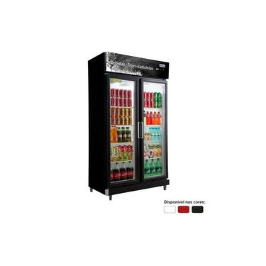 Freezer Expositor Vertical 6750L 2 Portas De Vidro Rf020 Frilux