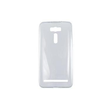 Capa De Silicone Tpu Ultra Fino Slim Zenfone 2 Laser 6 Ze601 - Cor Transparente