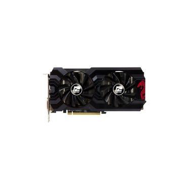Placa De Vídeo Radeon Power Color Rx 570 4Gb Red Dragon