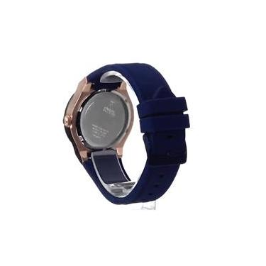 4ccb8193d Relógio Feminino Guess Blue And Rose Tom Ouro Dourado Standout Style Watch