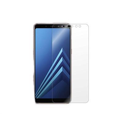 "Película de Gel para Samsung Galaxy A8 2018, Cell Case, Samsung Galaxy A8 5.6"" 2018, Película Protetora de Tela para Celular, Transparente"
