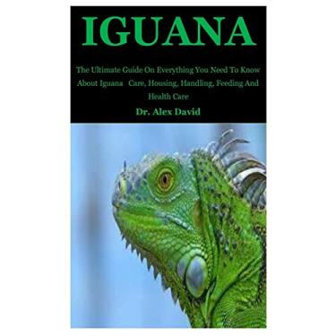 Iguana: The Ultimate Guide On Everything You Need To Know About Iguana Care, Housing, Handling, Feeding And Health Care